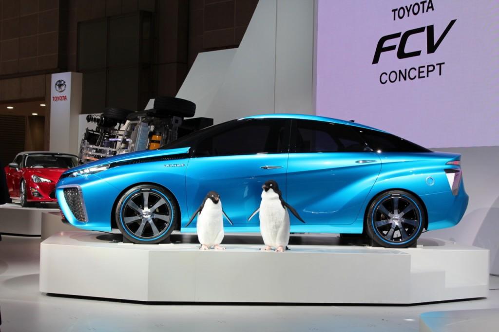 Toyota hydrogène