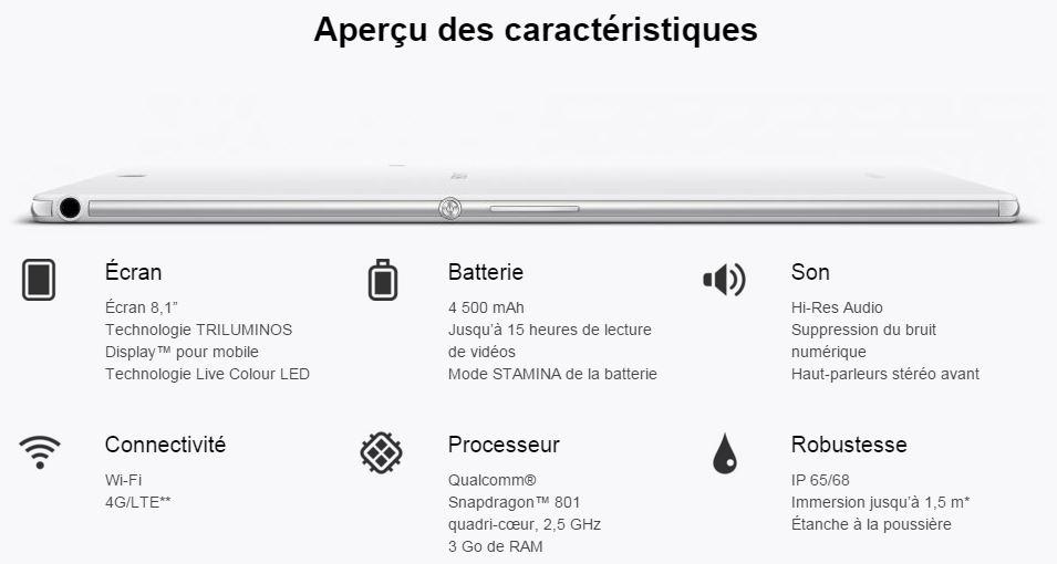 LeMondeLibre-Sony-Xperia-z3compact-Caractéristiques