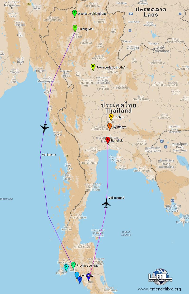 Road Trip en Thaïlande – Décembre 2015 | LeMondeLibre BLOG
