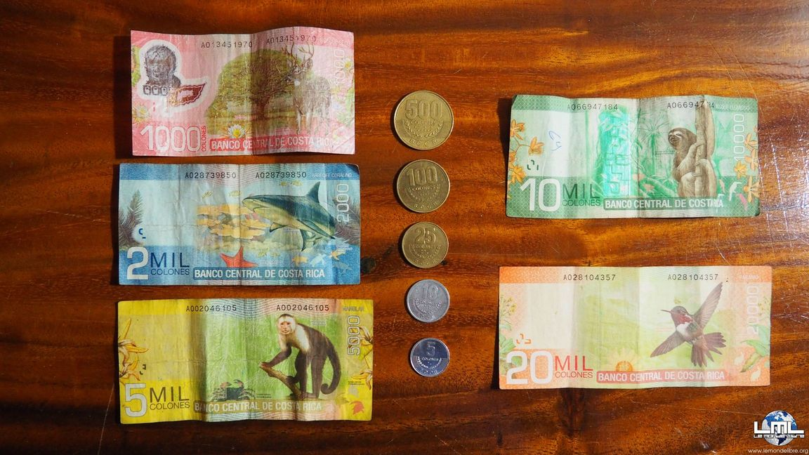Monnaie costa rica